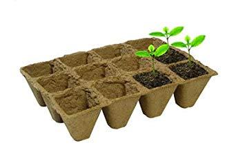 36 Fibre Plant Pots 5cm
