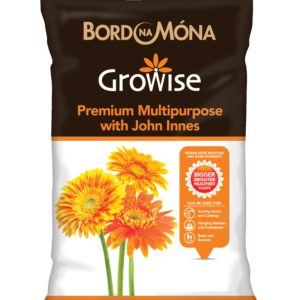 Bord na Mona Growise Premium Multipurpose Compost with John Innes 10 Litres