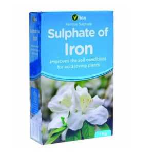 Sulphate of Iron Fertiliser 1kg
