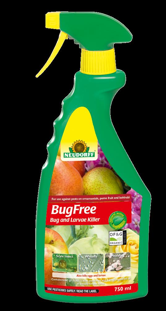 BugFree Bug and Larvae Killer