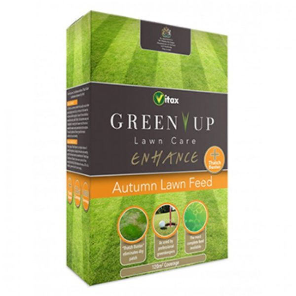 Vitax Green Up Enhance Granular Autumn Lawn Feed
