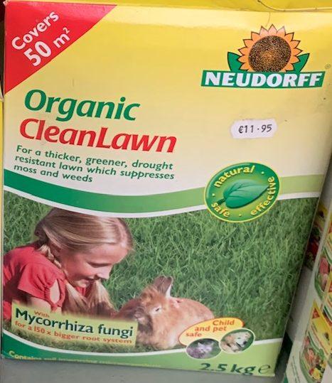 Neudorff organic cleanlawn