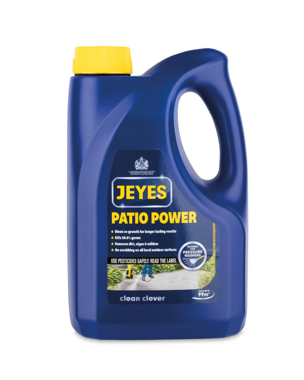 JEYES 4-IN-1 PATIO POWER OUTDOOR HARD SURFACE CLEANER