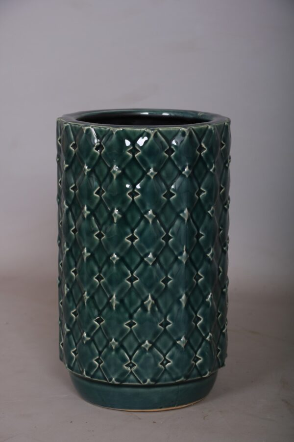 K.10cm(x12)3020 blue vase
