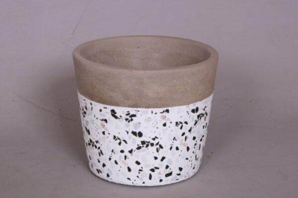 Ceramic white speckle