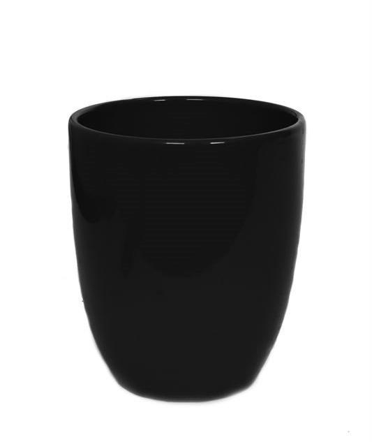 Orchid pot 'Hugo' - black