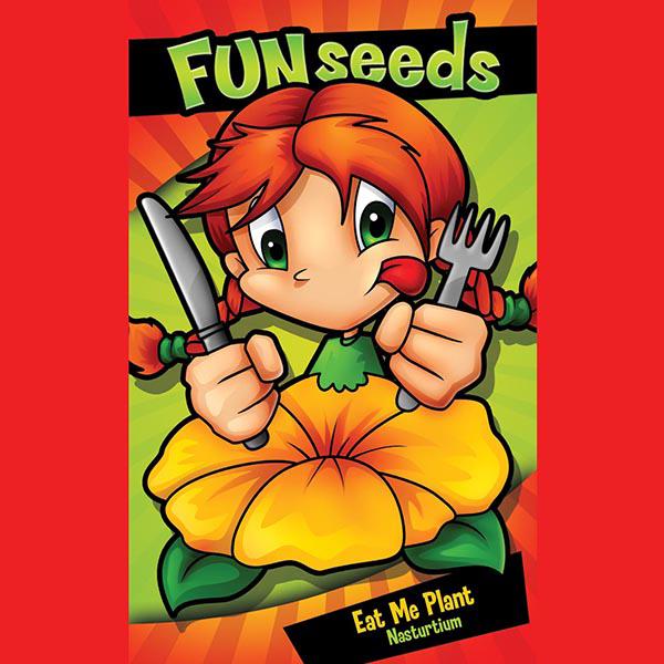 EAT ME PLANT Nasturtium