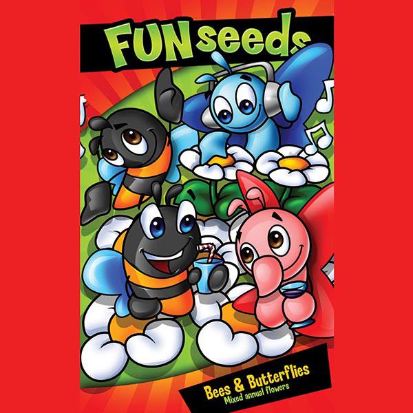 Fun Seeds Bees & Butterflies Mixed