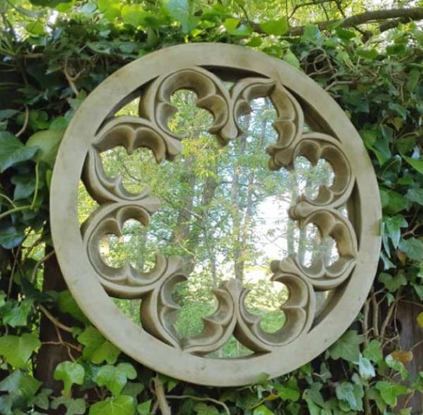 Stone Mirror Round