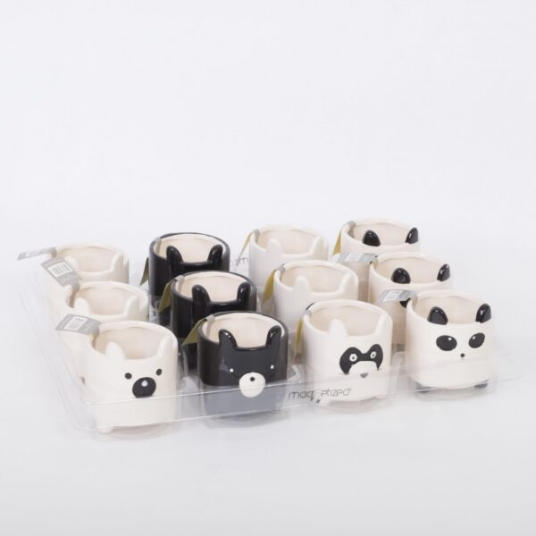Ceramic magnet zoo mix
