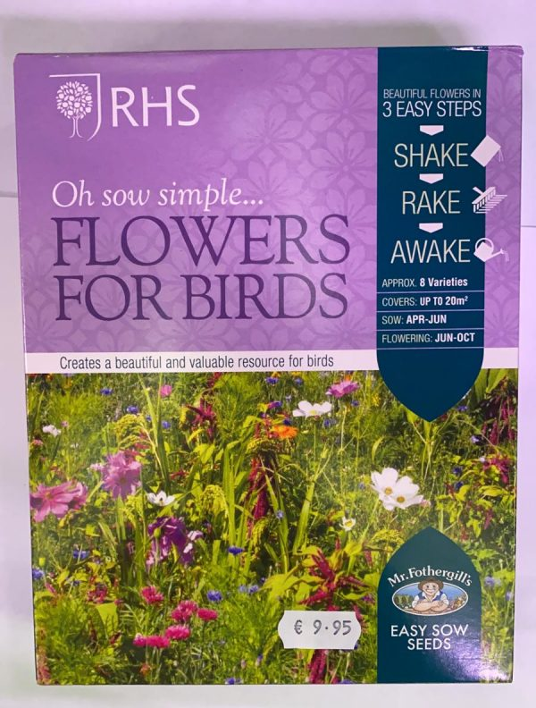 RHS Oh Sow Simple Seed Shakers Flowers For Birds