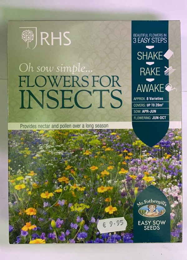 RHS Oh Sow Simple Seed Shakers Flowers For Insects