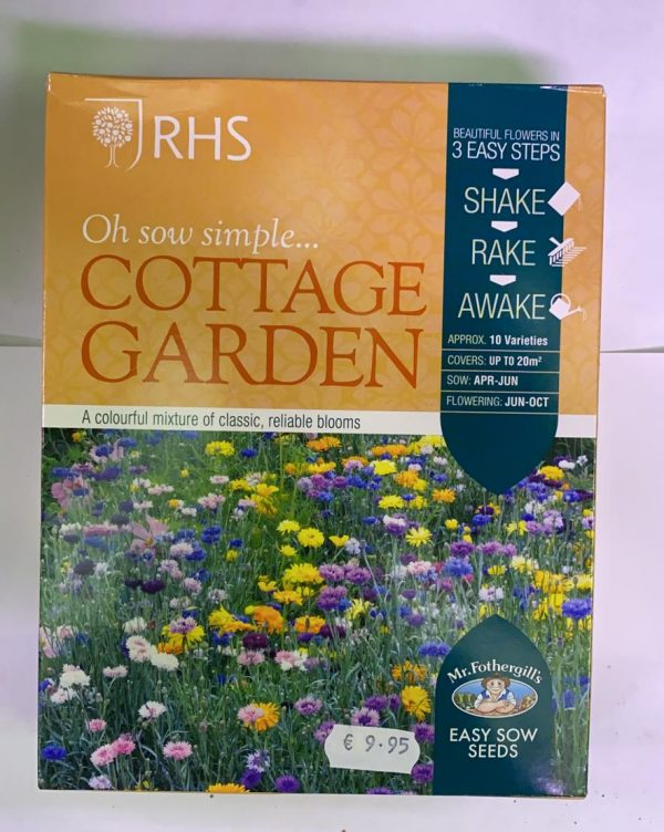 RHS Oh Sow Simple Seed Shakers Cottage Garden
