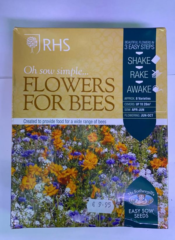 RHS Oh Sow Simple Seed Shakers Flowers For Bees
