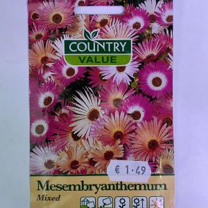 Mesembryanthemum Seeds Mixed by Country Value