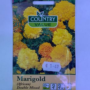 Marigold Seeds African Double Mixed Seeds Country Value