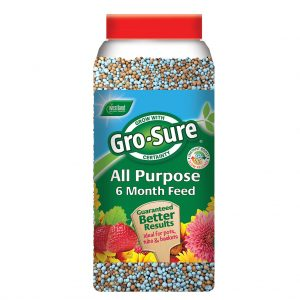 Westland Gro-Sure All-Purpose Slow Release Plant Food 1.1Kg Jar