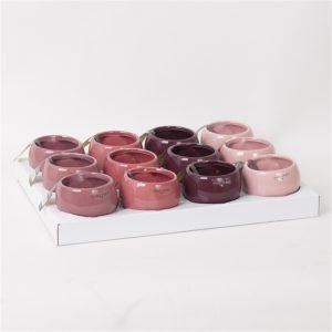 Ceramic magnet pink mixed
