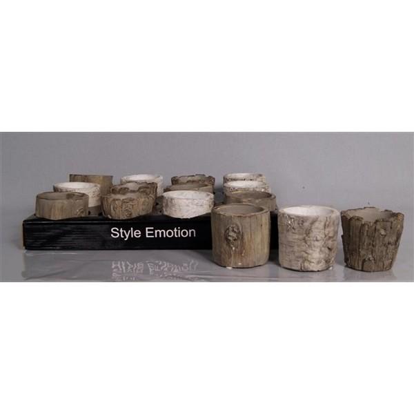 ceramic trunk pot