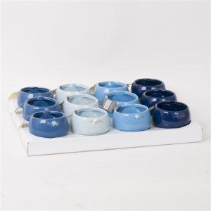 Ceramic magnet blue mix