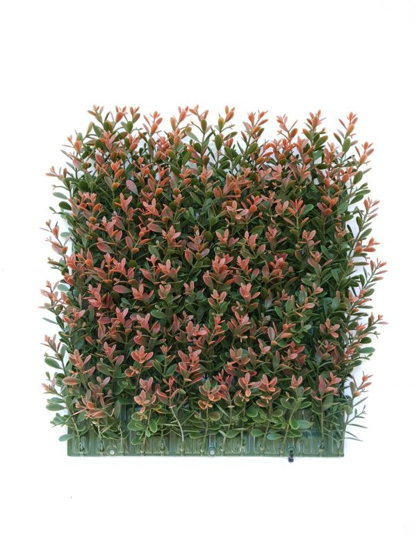Artificial Red Day Leaf Tile