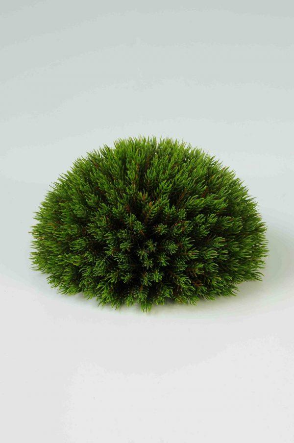 Artificial Picea Pine Half Ball 12cm