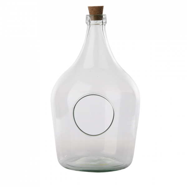 Open terrarium bottle 5 litre