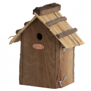 Esschert Design Nest Box Blue Tit Thatched Roof
