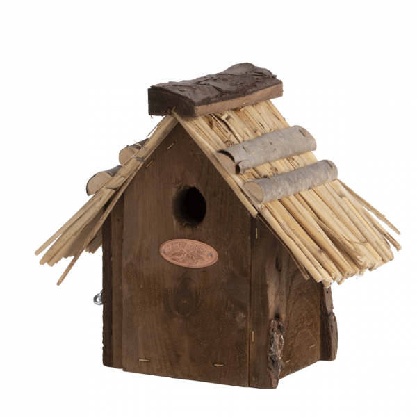 Nest box wren thatched roof