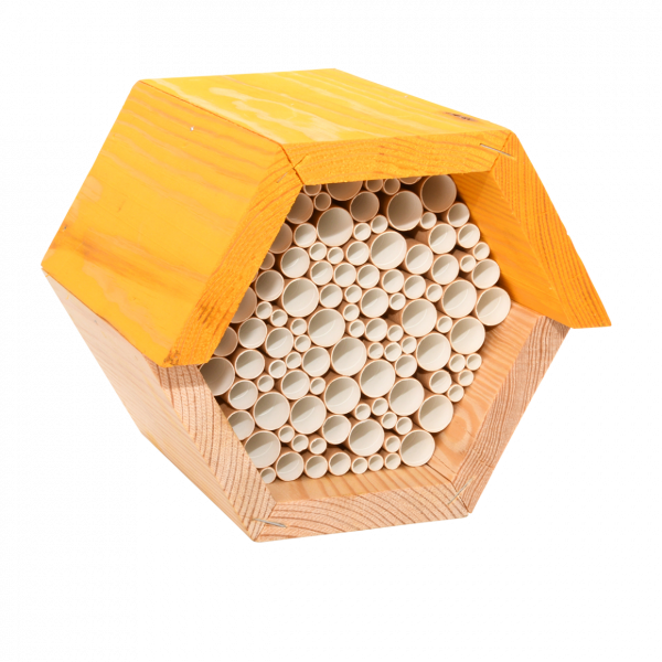 Bee house hexagon