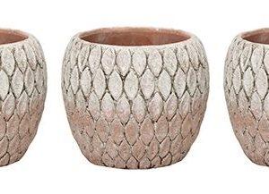 Ceramic Marrakesh Orange Pot 6cm